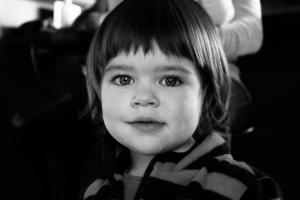 Ma nièce Alice, 2 ans